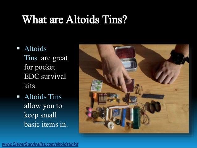 Perfect EDC: Altoids Tin Kit Slide 2