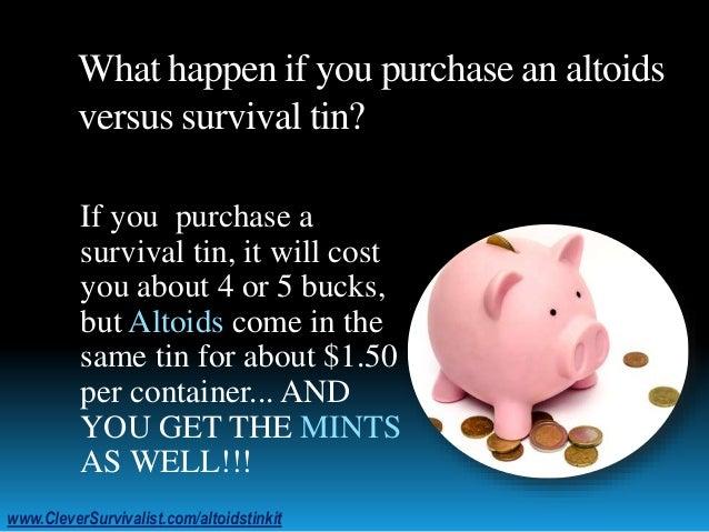 Perfect EDC: Altoids Tin Kit Slide 3