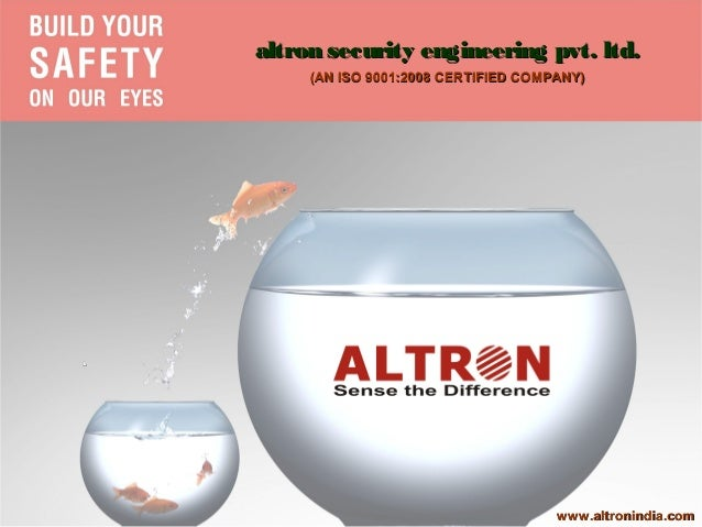 altron security engineering pvt. ltd.         (AN ISO 9001:2008 CERTIFIED COMPANY)L                                       ...