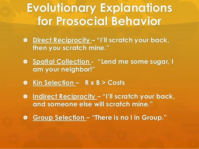 evaluation of evolutionary theory of altruism The evolutionary roots of altruism melvin konner may 22, 2015  wilson believes that to answer this question, we must turn to evolutionary theory, and.