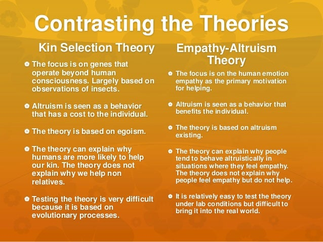 altruism kin selection Kin selection: kin selection, a type of natural selection that considers the role relatives play when evaluating the genetic fitness of a given individual it is based on the concept of inclusive fitness alternative title: kin altruism.