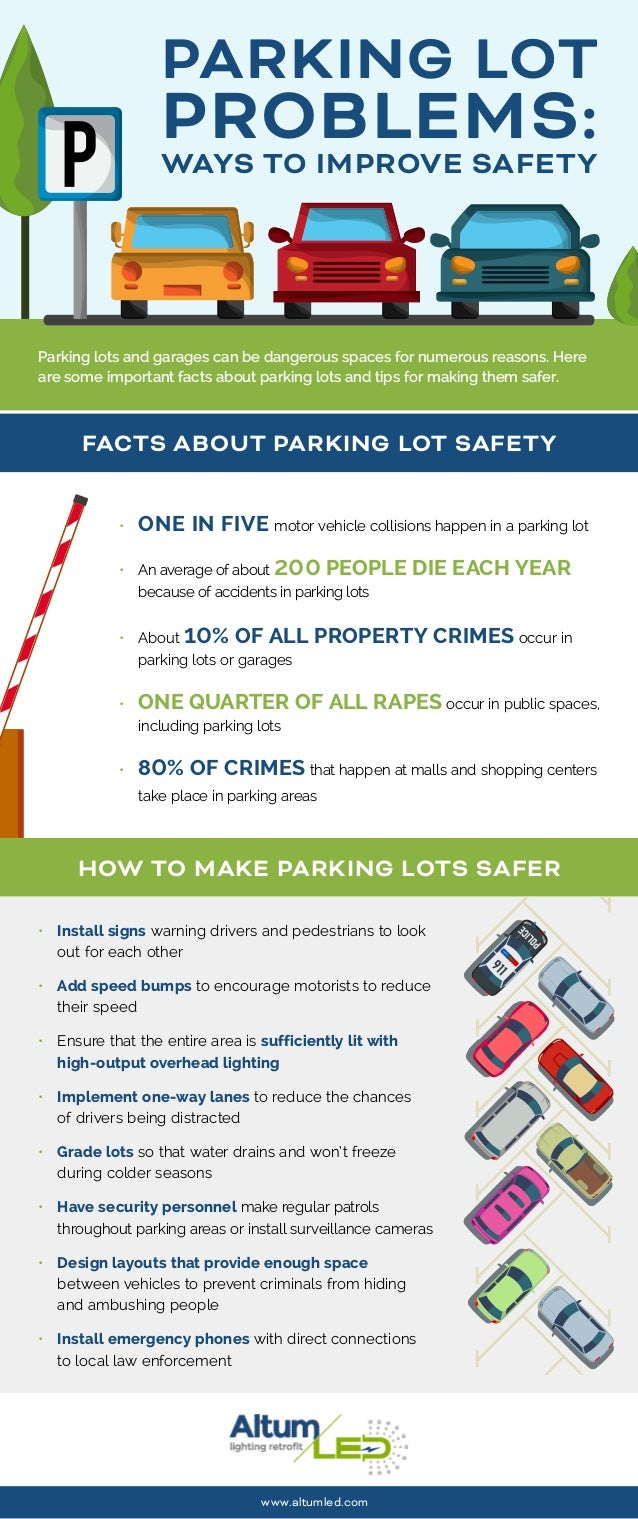 How To Improve Parking Lot Safety