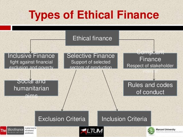 Activities/Agents of EthicalFinance                           Ethical finance fight against financial                     ...