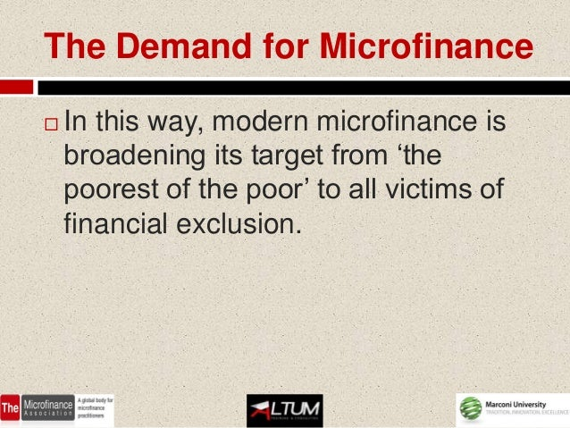 Microfinance: What It Is and Why It Matters