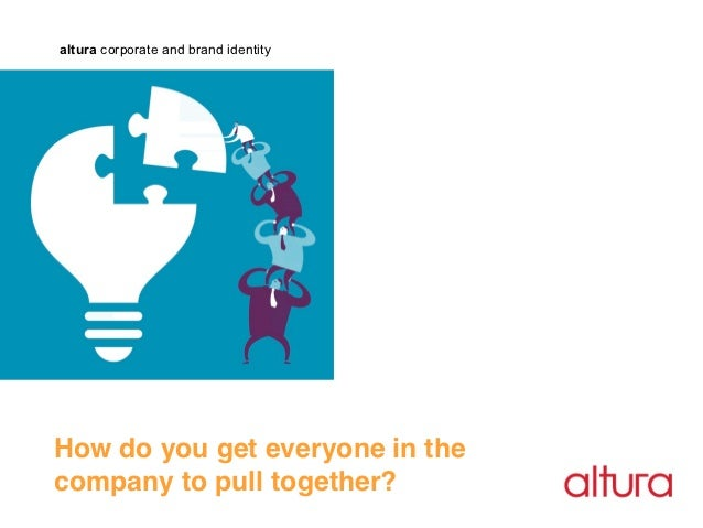 altura corporate and brand identityHow do you get everyone in the !company to pull together?!