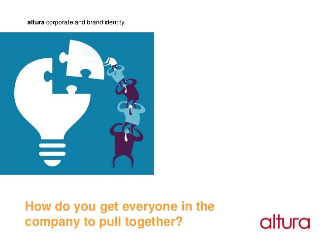 altura corporate and brand identityHow do you get everyone in thecompany to pull together?
