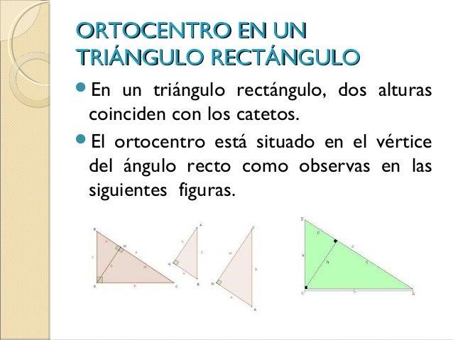 La Altura Y El Ortocentro De Un Triángulo
