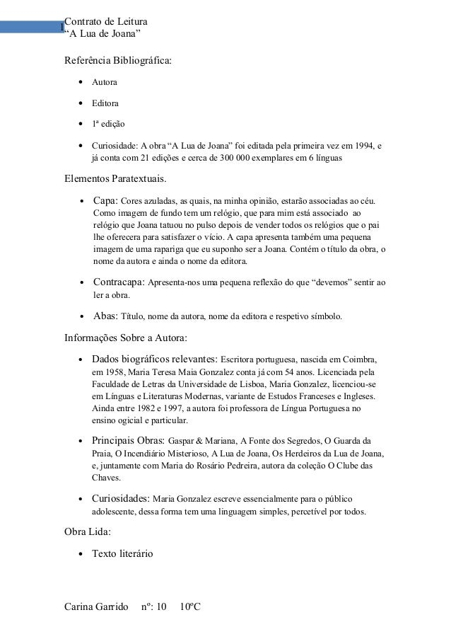 A Lua De Joana Livro Pdf