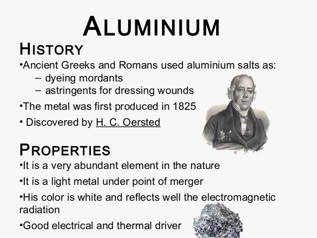 Aluminium titanium biochips biosensors - How was aluminium discovered ...