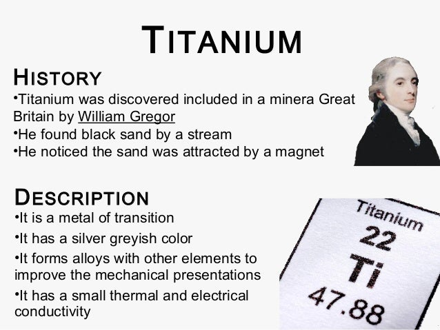 Where Can Titanium Be Found In Nature