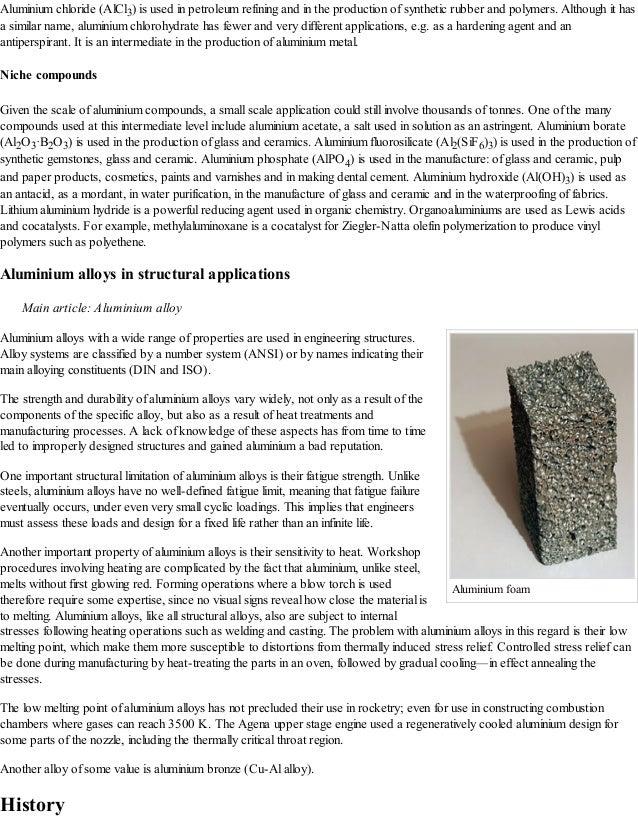 Aluminium Wikipedia