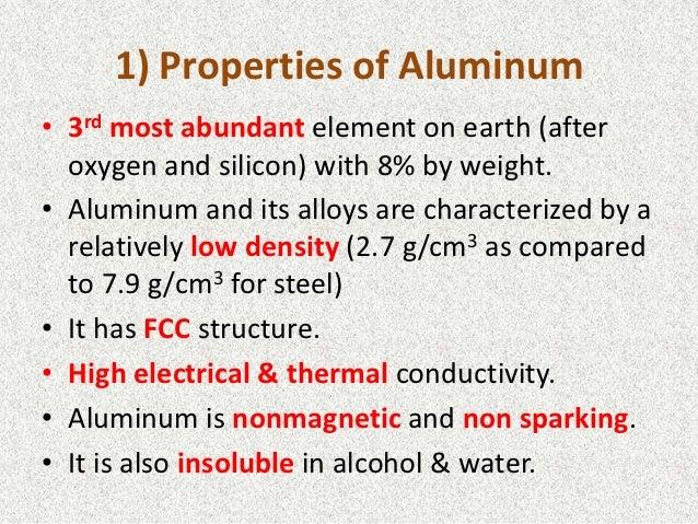 Aluminium - Advantages and Properties of Aluminium