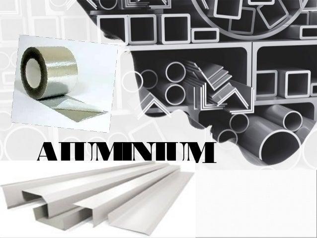 Material And Use In Interior Design ALUMINIUM