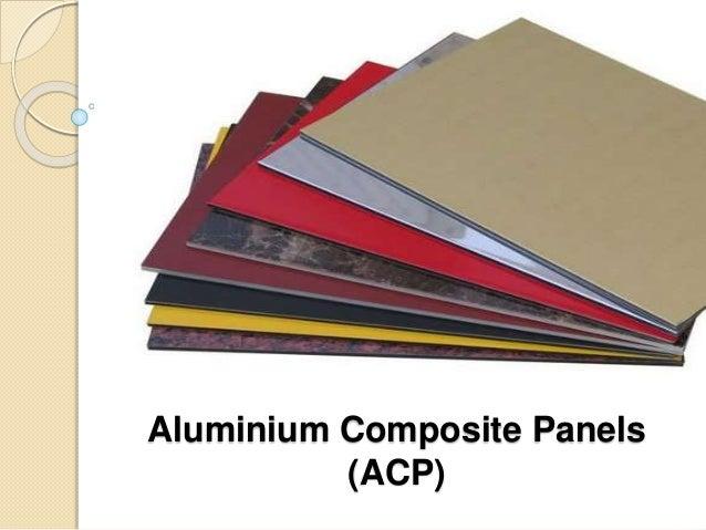 Aluminium composite panels(acp)