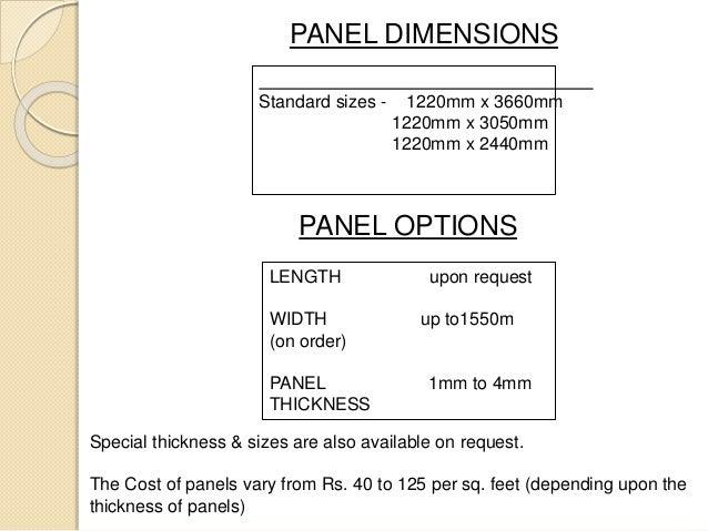 Aluminium Composite Panels Acp