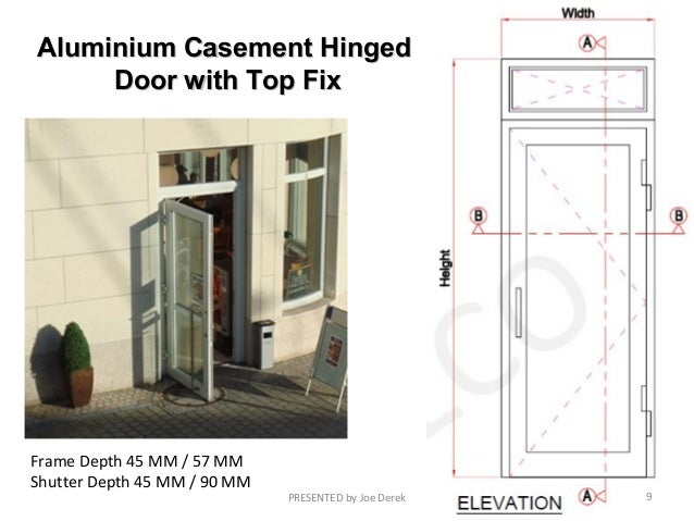 Aluminium Casement HingedAluminium Casement Hinged Door ...