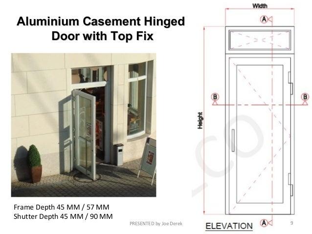 Aluminium Casement HingedAluminium Casement Hinged Door ...