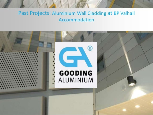 Past Projects: Aluminium Wall Cladding at BP Valhall Accommodation