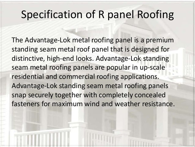 Aluminium Roofing System In Seattle Usa
