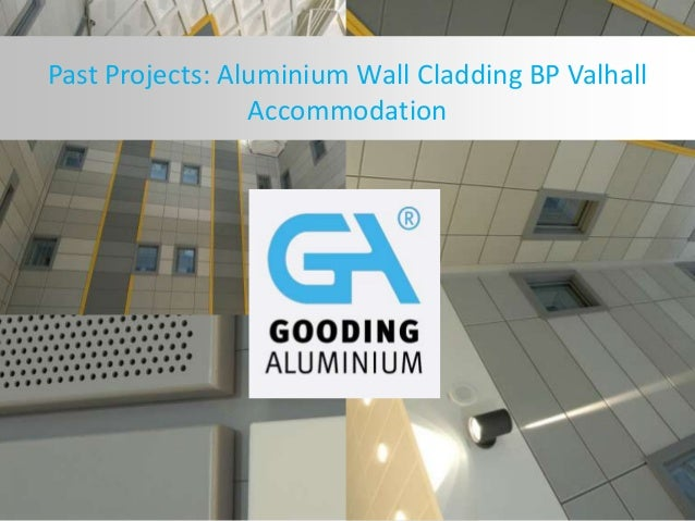Past Projects: Aluminium Wall Cladding BP Valhall Accommodation
