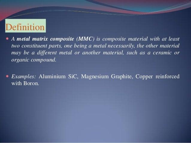 Aluminum Si C Mmc