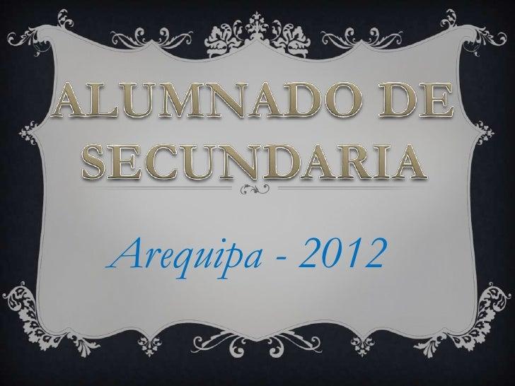 Arequipa - 2012