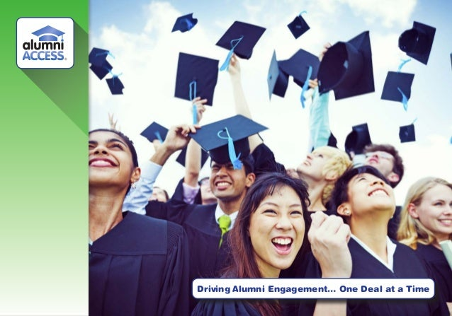Driving Alumni Engagement… One Deal at a Time