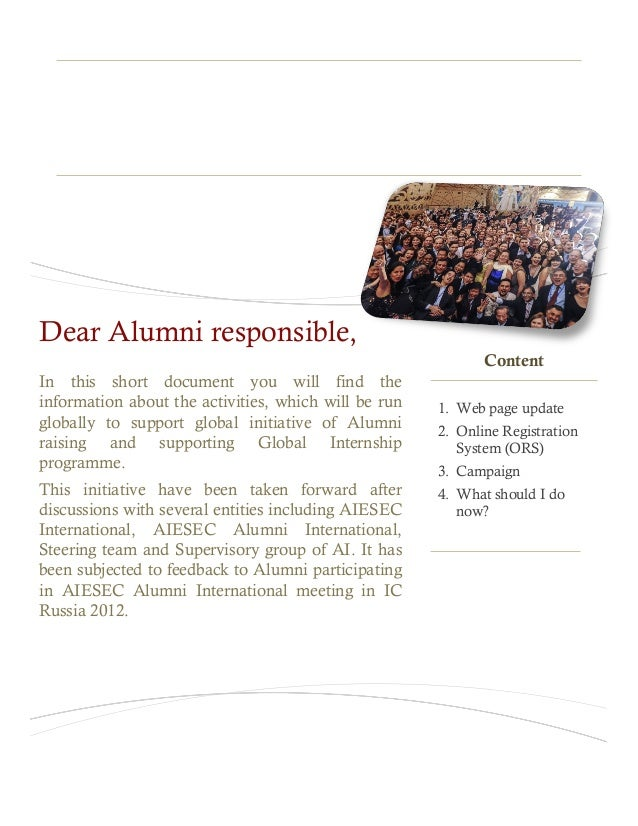 Alumni GIP RaisingInformation bookletIn this short document you will find theinformation about the activities, which will ...