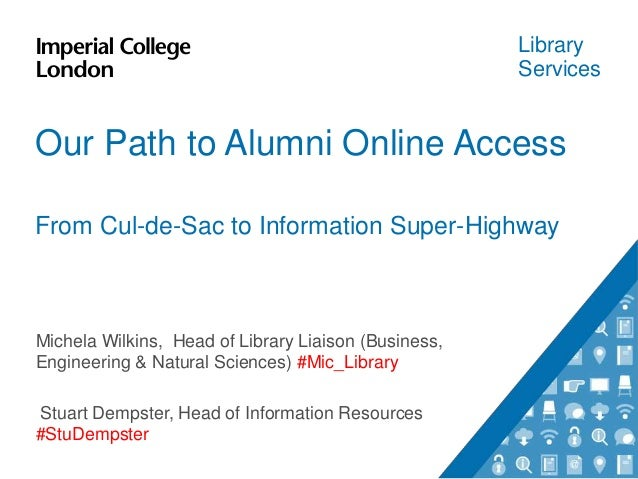 Expanding online access to collections for alumni