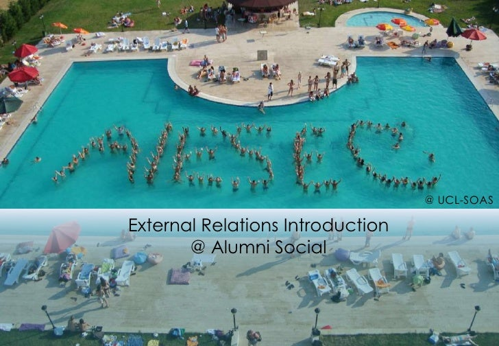 @ UCL-SOAS<br />External Relations Introduction <br />@ Alumni Social<br />