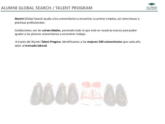 Alumni Talent Program Slide 3