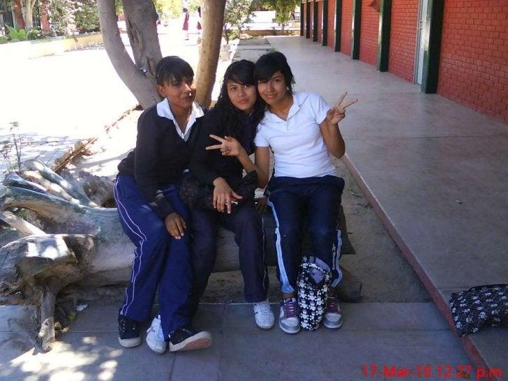 Alumnos de la secundaria.