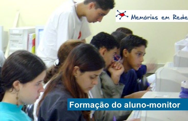 Capa Formação do aluno-monitor