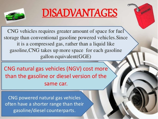 Disadvantages Of Compressed Natural Gas
