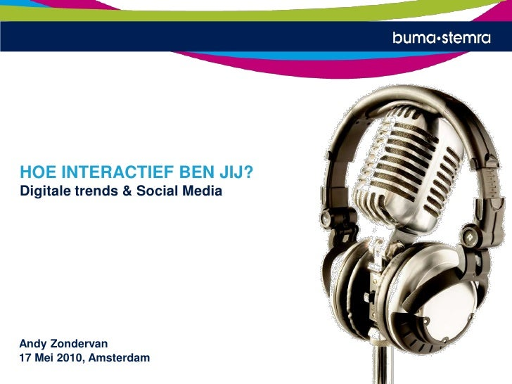 Online, musicbusiness and Social Media Trends