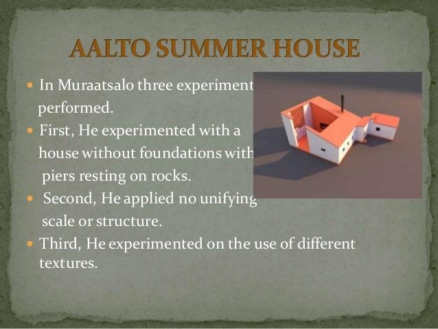 Alvar Aalto Architect Biography Principles Works
