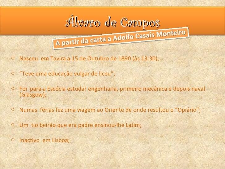 Alvaro de Campos Slide 2