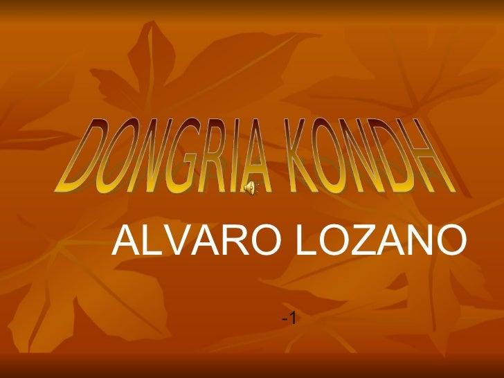 ALVARO LOZANO -1