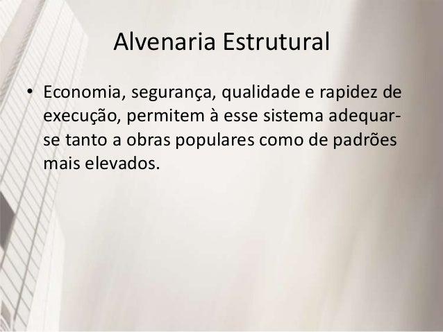 Alvenaria Estrutural