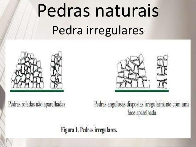 Pedras naturais Pedra regulares