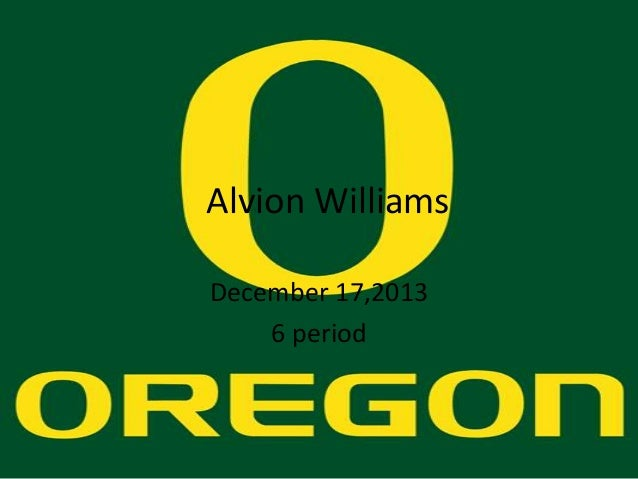Alvion Williams December 17,2013 6 period