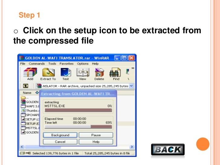 golden al-wafi translator free download for windows 7 2012