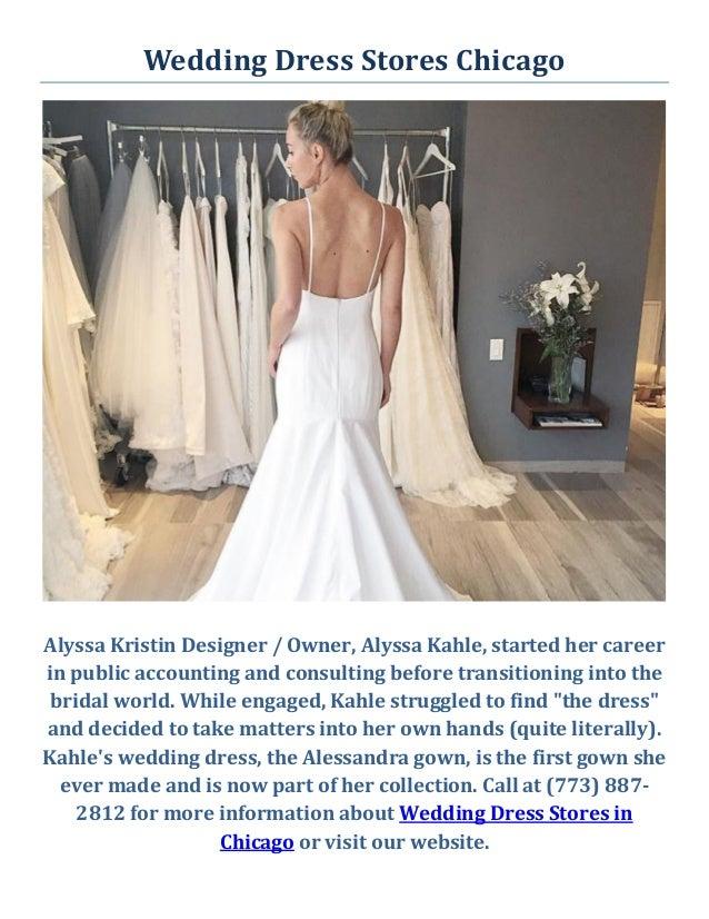 Alyssa Kristin Wedding Dress Stores in Chicago, IL