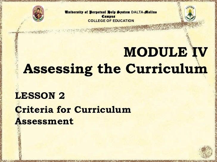 University of Perpetual Help System DALTA-Molino                             Campus                      COLLEGE OF EDUCAT...