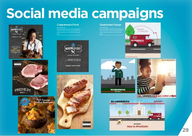 29 Social media campaigns Guardsman Group Get Social Ltd. Project Details: Facebook and Instagram posts, Graphics for the ...