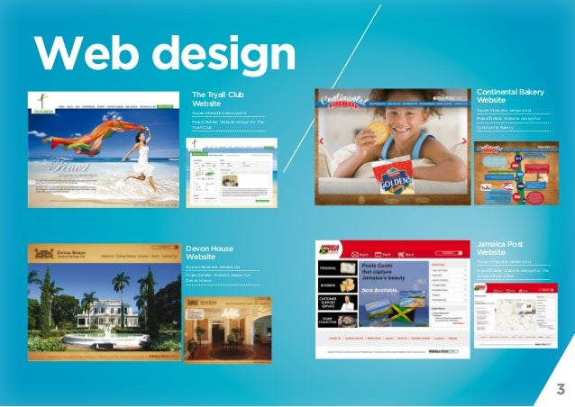 3 Web design The Tryall Club Website Toucan Interactive Jamaica Ltd. Project Details: Website design for The Tryall Club D...