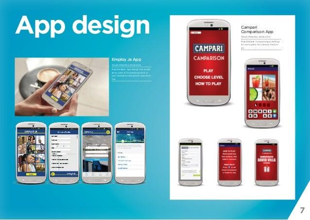 7 App design Employ Ja App Toucan Interactive Jamaica Ltd. Project Details: App design that would allow users to find empl...