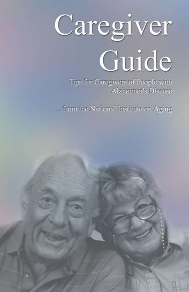 TABLEOF CONTENTS Tips for Caregivers.................................................1 Dealing with the Diagnosis...........