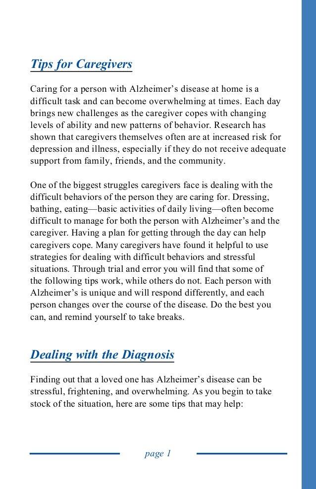 Global Medical Cures™   Alzheimers Caregiver Guide Slide 3