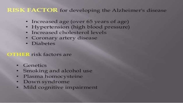 Essay on alzheimer's
